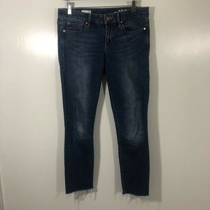 Women's Gap 1969 Distressed Dark Stretch Always Sk
